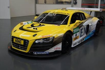La R8 LMS de Christian ABT chez Audi Lemauviel à Vire (14)