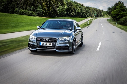 Audi S3 Berline : Dans sa version libérée….