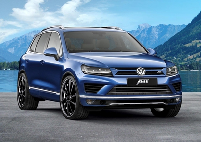 Le nouveau Touareg version ABT