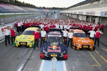 Victoire du constructeur Audi en championnat DTM / Victoire du Team Abt Sportsline dans le classement des teams