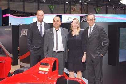 ABT Sportsline était au salon International de l'auto de Genève du 6 au 16 mars 2014