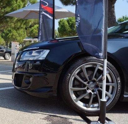 ABT arrive au salon de Fréjus du 20 au 23 septembre 2013 sur le stand d'Audi et VW
