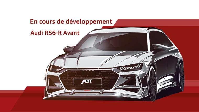 Prochainement : Audi RS6-R Avant